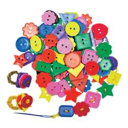 Bright Buttons 2 Lbs By Roylco