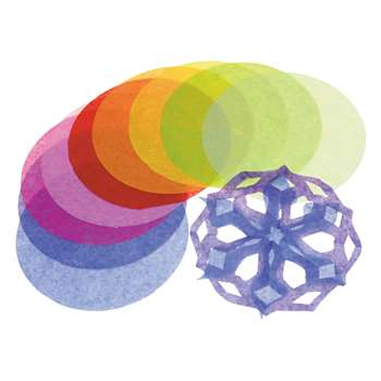 Tissue Circles 4 Inch By Roylco