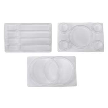 Roylco See Through Sorting Trays, R-35050
