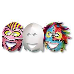 Roylco African Masks 20Pk By Roylco