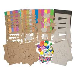 Roylco Picture Frames Kit By Roylco