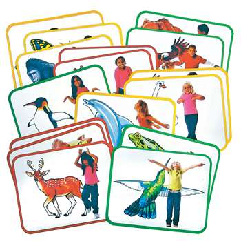 Body Poetry Animal Action Cards By Roylco