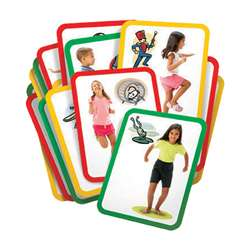 Busy Body Gross Motor Exercise Cards By Roylco