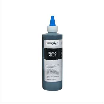 Handy Art Black Glue 8Oz, RCP149101