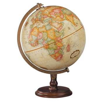 The Lenox Globe Antique Finish By Replogle Globes