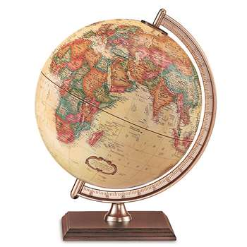 The Forrester Globe Antique Finish By Replogle Globes
