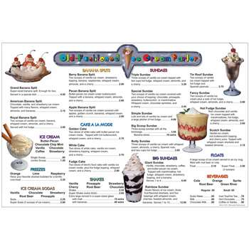 Menu Math Ice Cream Parlor Extra Menus By Remedia Publications