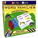 Word Families Set By Remedia Publications
