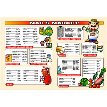 Market Math Extra Price Lists 6 By Remedia Publications