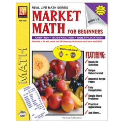 Market Math For Beginners By Remedia Publications