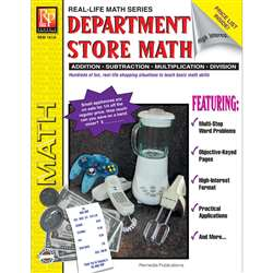 Book Department Store Math Gr 4 - 8 By Remedia Publications