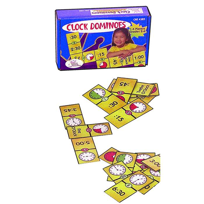 Clock Dominoes By Remedia Publications