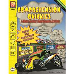Comprehension Quickes Reading Level 5 By Remedia Publications