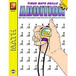 Timed Math Facts Addition By Remedia Publications