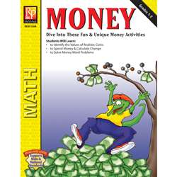 Money Grades 1-2 By Remedia Publications