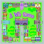 5 W'S Game Level A, Reading Level 1-2 By Remedia Publications
