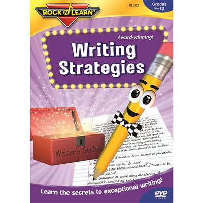 Writing Strategies Dvd Gr 4 & Up By Rock N Learn
