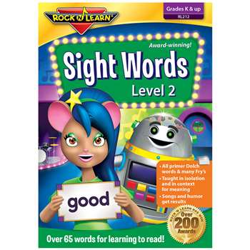 Sight Words Dvd Vol 2 By Rock N Learn