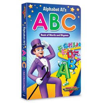 Rock N Learn Alphabet Als Abc Board Book, RL-311