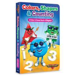 Rock N Learn Colors Shapes & Counting Board Book, RL-312
