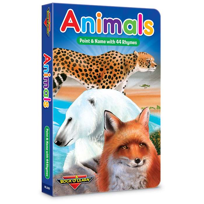 Rock N Learn Animals Board Book, RL-320