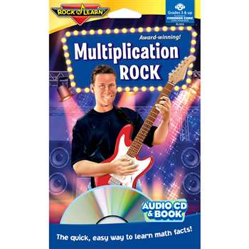 Multiplication Rock Cd By Rock N Learn