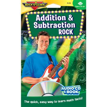 Addition & Subtraction Rock Cd+Book By Rock N Learn