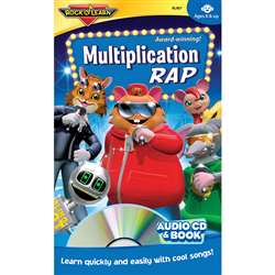 Multiplication Rap Cd + Book By Rock N Learn