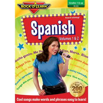 Rock N Learn Spanish Dvd Volume I & Volume Ii By Rock N Learn