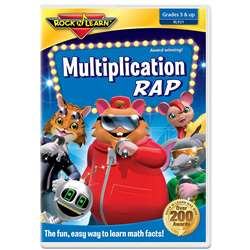 Multiplication Rad On Dvd By Rock N Learn