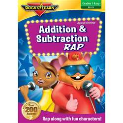 Addition And Subtraction Rap On Dvd By Rock N Learn