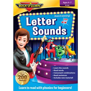 Letter Sounds Dvd By Rock N Learn