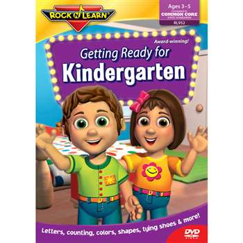 Getting Ready For Kindergarten Dvd By Rock N Learn