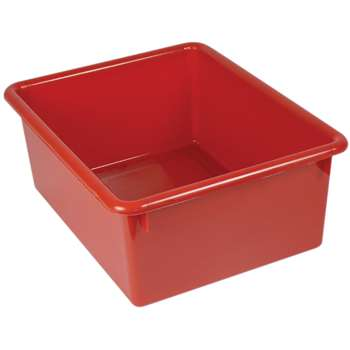 5In Stowaway Letter Box Red No Lid 13 X 10-1/2 X 5 By Romanoff Products