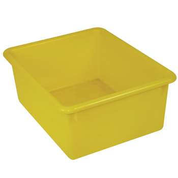 5In Stowaway Letter Box Yellow No Lid 13 X 10-1/2 X 5 By Romanoff Products