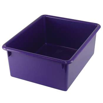 5In Stowaway Letter Box Purple By Romanoff Products