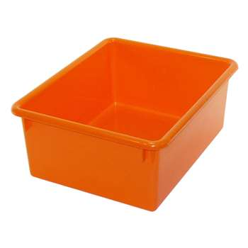5In Stowaway Letter Box Orange By Romanoff Products