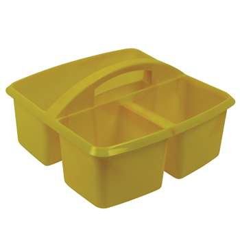 Small Utility Caddy Yellow By Romanoff Products