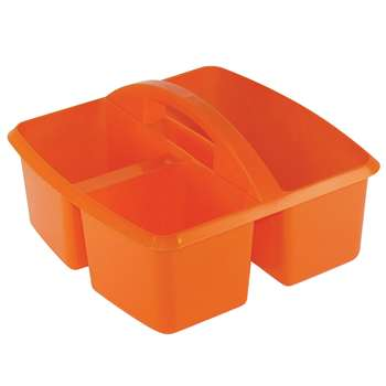Small Utility Caddy Orange By Romanoff Products
