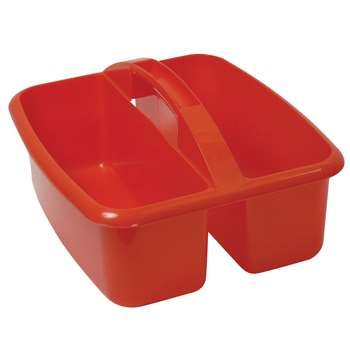 Large Utility Caddy Red By Romanoff Products