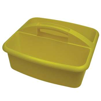 Large Utility Caddy Yellow By Romanoff Products