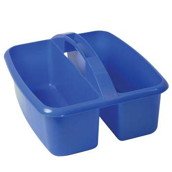 Large Utility Caddy Blue By Romanoff Products