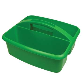 Large Utility Caddy Green By Romanoff Products