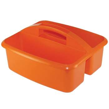 Large Utility Caddy Orange By Romanoff Products