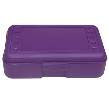 Pencil Box Purple By Romanoff Products
