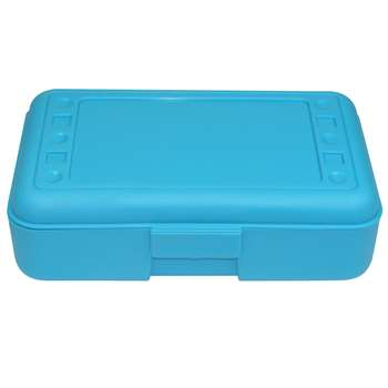 Pencil Box Turquoise By Romanoff Products