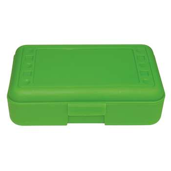 Pencil Box Lime Opaque By Romanoff Products