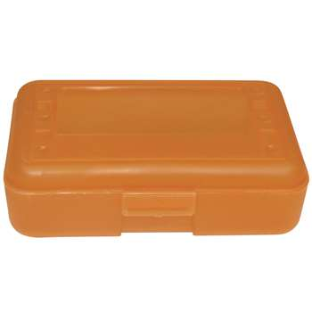 Pencil Box Tangerine By Romanoff Products