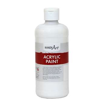 Acrylic Paint 16 Oz Blockout White, RPC101005