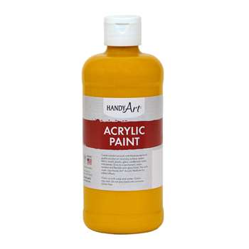 Acrylic Paint 16 Oz Deep Yellow, RPC101020